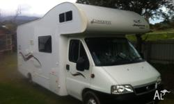 One owner since new, 2006 Fiat Ducato, 23ft with only