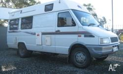 Iveco 2.8L Manual Turbo Diesel Has all near new tyres,