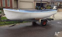 For Sale Boat and trailer for sale, 16ft Fibreglass