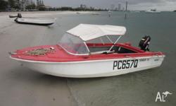 I have been using it as a tender to a larger boat which