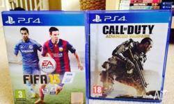 For Sale Fifa 15 AND Call of Duty Advanced Warfare