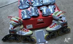 Fila Nighthawk Ladies Rollerblades Size UK 7 (EU 40.5),