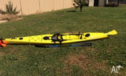 I am selling my Finn Affinity sit-on kayak with