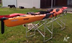 FINN Affinity sit on kayak (plastic) Length 4.2mtrs ,