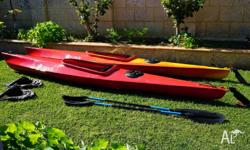 Two Finn Kayaks in good condition for sale including