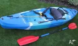 FINN Kayak - Widgit Comes with paddle as photographed.