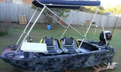 A one off custom item to own. No boat licence needed.