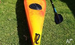 Finn Kayak in good condition. Seven years old kept