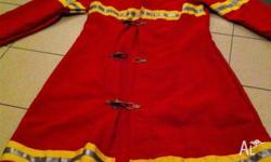 Selling high quality ladies fireman costume - Bought