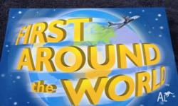 Family Board Game First Around the World. Brand New -