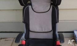 Child booster seat in very good used condition Folds in