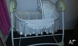 First Years Sway & Sooth Auto Rocking Bassinet Pick up