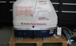 For sale one fischer panda marine generator model 4000s
