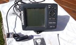 LOWRANCE MARK-5X FISH FINDER. GOOD CONDITION.