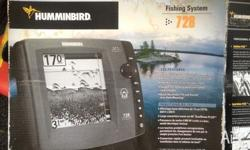 Hummingbird fish finder GPS capable.. Humming bird 728