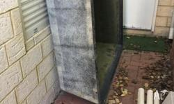 Large fish pond fibre glass. No leaks. Selling due to