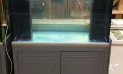 Fish Tank and Cabinet 3' x 2' x 2' Ex Shop Display.Can