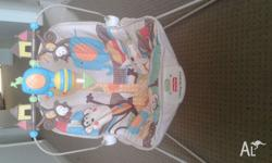 hi i am selling a fisher-price bouncer for $20.. its in