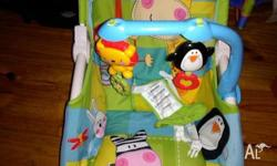 fisher and price adjustable rocker. battery operated