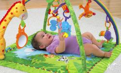 For Sale- Fisher & Price Rainforest Playmat Bought for
