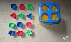 Fisher price shape sorter with bucket $ 8 fixed price.