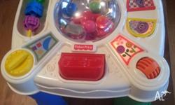 Great condition, push button and the balls in the