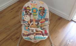 For Sale: Fisher Price Baby bouncy chair- best suited