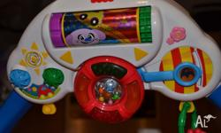Fisher price baby kick baby playgym. Sorry don't kno if