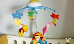 Fisher Price cot mobile music from Bach, Beethoven and