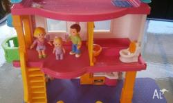 I am selling a pre-loved Fisher Price Doll House. It is