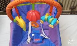 The Fisher Price Infant-To-Toddler Rocker is an infant