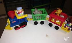 Fisher price little people circus train $15 Press