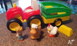Fisher Price Little People tractor - as new condition
