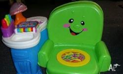 Fisher~price musical chair used but in amazing