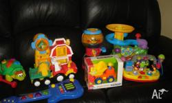 Will sell individually or $60 for the lot. Playskool
