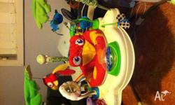 Selling a pre loved fisher price rainforest jumperoo.