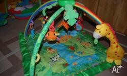 Fisher Price Rainforest Play Gym. Very good working