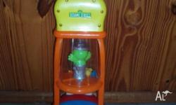 Sesame Street Toy vacuum cleaner. Push along with Elmo