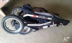 This stroller is in good condition according to price.