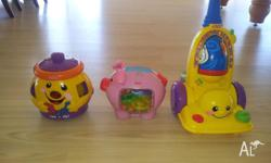 Fisher and Price Laugh and Learn toys x 3 all in
