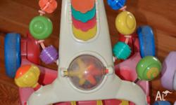 What you see is what you get. 2 used cond fisher price