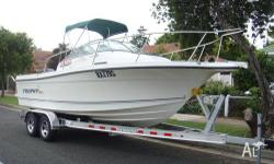 2004 TROPHY PRO WALKAROUND 21.7ft OUTBOARD MOTOR TROPHY