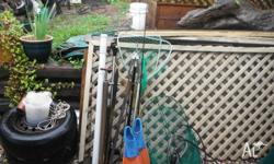 As per photo Fishing gear, cast net, scoop nets, yabbie