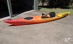 FISHING KAYAK dag Mid-way Good Condition. Very stable