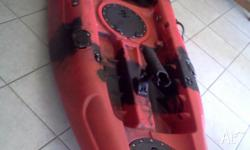 This kayak is new never been used 5 rod holders scupper