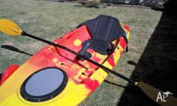 FRONTIER single person fishing Kayak excellent