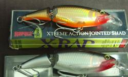 for sale is 1 lot of 2x Rapala Extreme Jointed Shads,