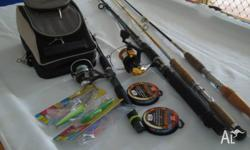 1. Penn Fishing Rod and Reel Combo (3-6 kg) 2. Jarvis