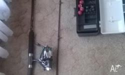 Fishing kit 1 x Fishing rod new condition never used