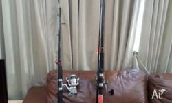 2 fishing rods on sale, just $50 About 3.2m longer rods